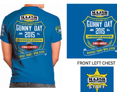 Gunny Day 2015 - Shirt Design