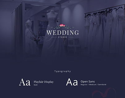 Wedding Stores - Home page