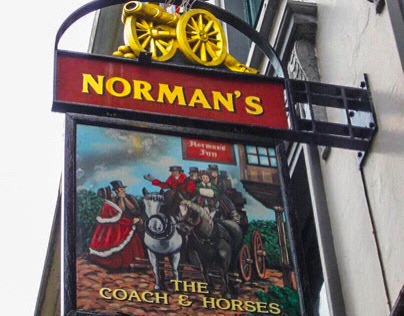 The Coach and Horses Soho  27/06/19