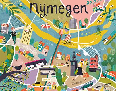 Nijmegen citymap