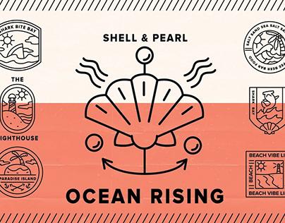 Ocean Rising MockupsbyYouWorkForThem Studio