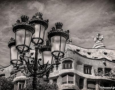 La Pedrera Barcelona - Catatonia. HDR