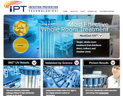 IPT website redesign & SEO