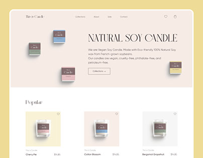 Candles online store
