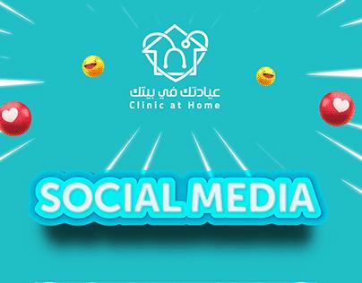 Clinic at Home Social Media Posts