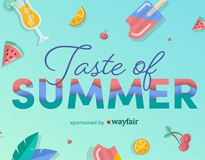 Wayfair SEO Banner Illustration