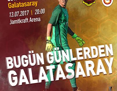 Bugün Günlerden Galatasaray Östersunds - Galatasaray