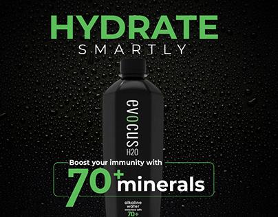 Black Alkaline Water Ads