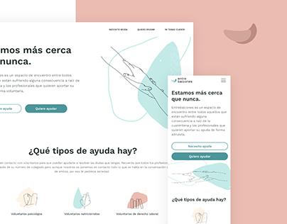 Interface Design - entrebalcones.com