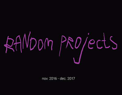 Random projects 2017