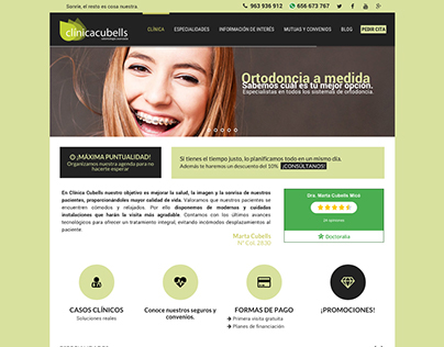 Clínica Cubells 2015 – Web, Photography and Video