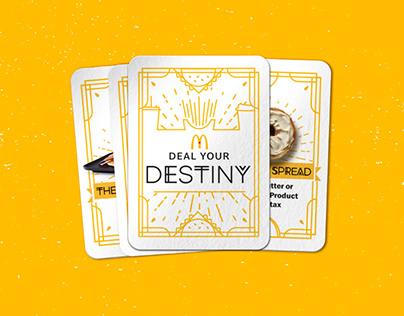 McDonalds Canada | Deal Your Destiny