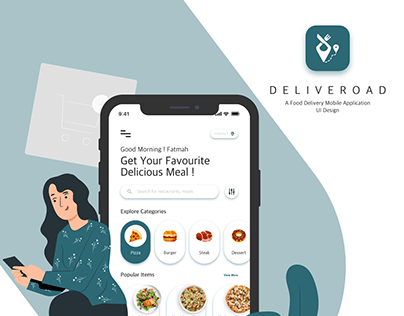 Food Delivery Mobile Application Design