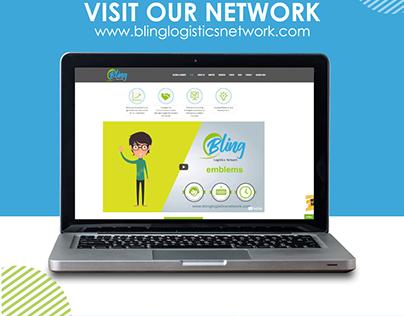 Contenido Social Media / Bling Logistics Network