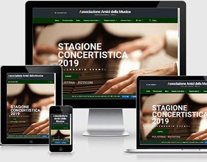 Sito Web Amici Musica Palmi