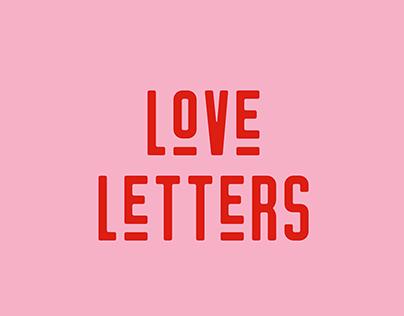 Love Letters Logo Concept