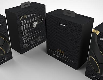Bluetooth HeadphonePackage Design