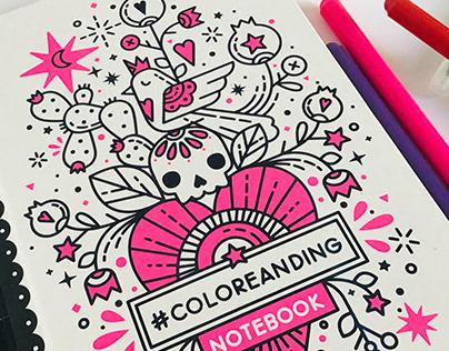 #COLOREANDIG *Notebook
