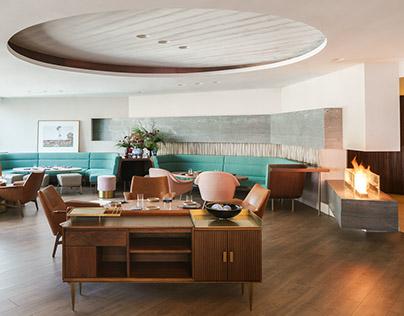 Highline restaurant, bar & lounge Red Design