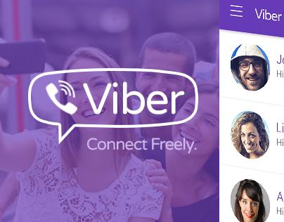 Viber IOS 7 Style Design
