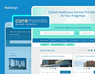 CareMondo Website Redesign