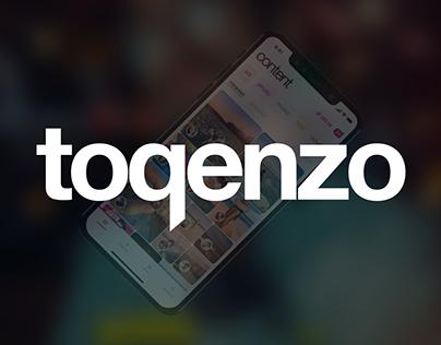 toqenzo — mobile app
