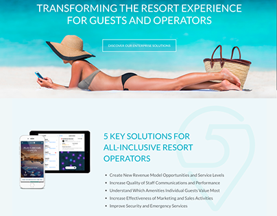 Level 5 Travel (Travel startup website & copy)