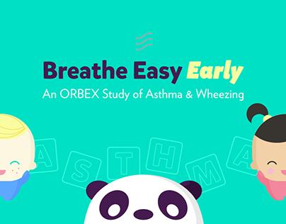 Asthma in Children Website & Branding