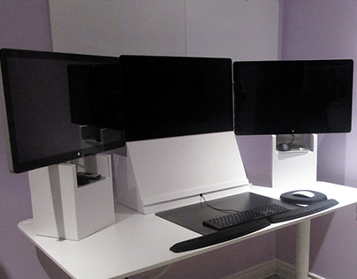 Custom Ergonomic Monitor Pedestals