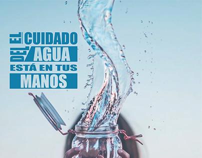 Cartel: El cuidado del agua