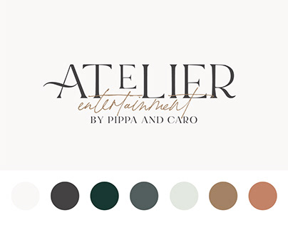Atelier Entertainment Brand Identity Design
