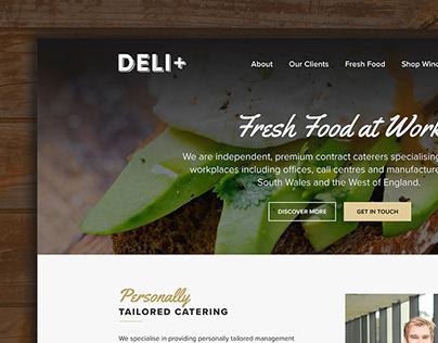Deli Plus - Web Design