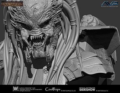 AVP Scar Predator - Zbrush Sculpt