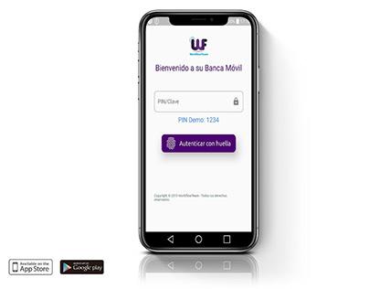 Banca Móvil para IOS y Android