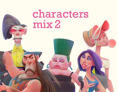 characters mix 2