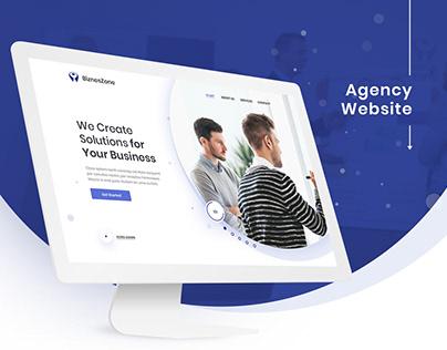 BiznesZone - Digital Agency Website