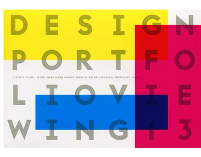 Design Portfolio Viewing