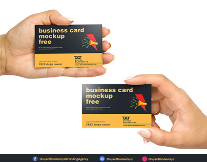 Free PSD - Horizontal Business Card 1 Download