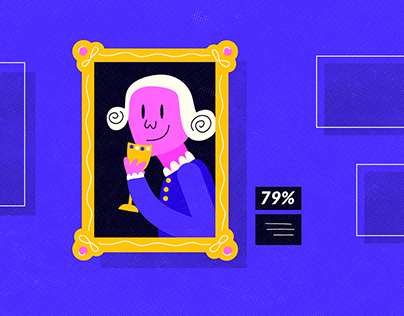 Les Français et le vin - Motion Design