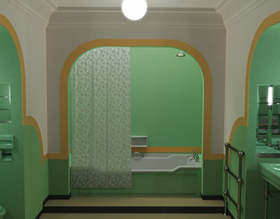The Shining 3D, 237 Toilet