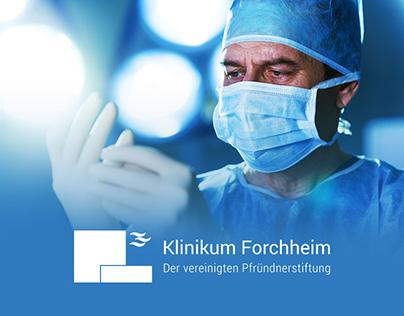 Klinikum Forchheim – Relaunch Webauftritt