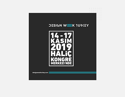 DESIGN WEEK TURKEY SOCIAL MEDIA DESING