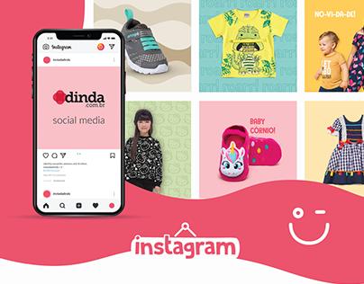 dinda.com.br - Instagram