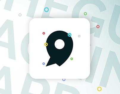 'Cheguei!' Location app