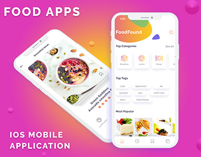 Food Apps For IOS and Android