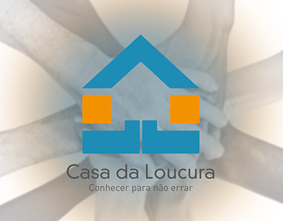 Projeto de identidade visual Casa da Loucura