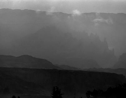 Returning to La Paz - landscapes