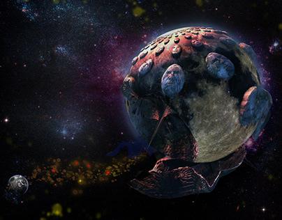 Sleep well little Planet Earth