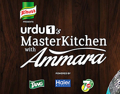 Master Kitchen with Ammara on Urdu 1