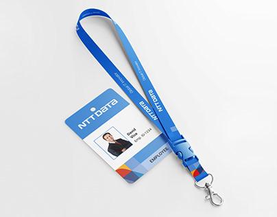 Lanyard and ID Card Design